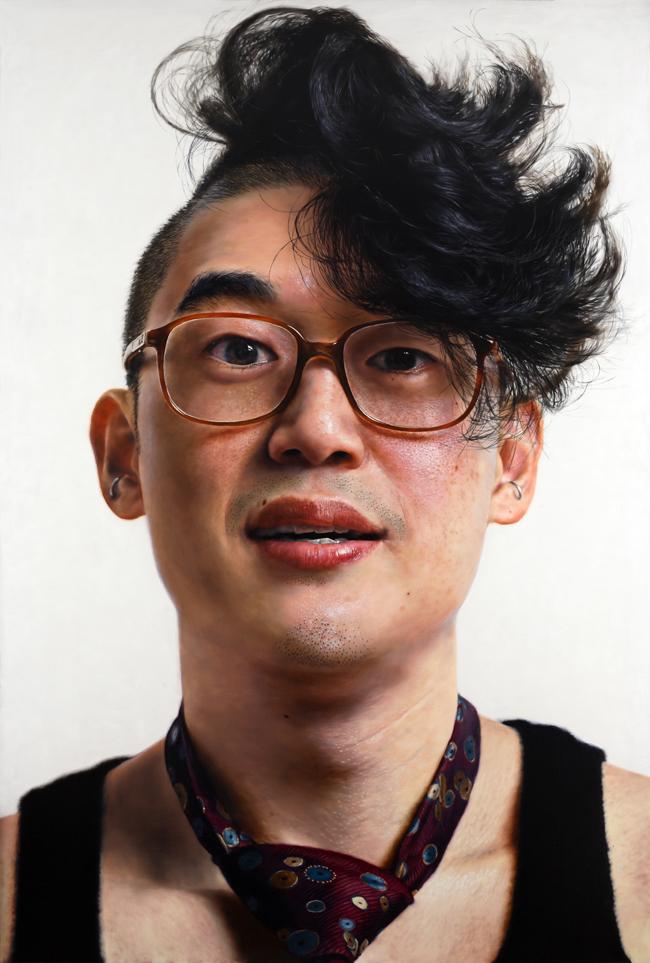 Kang Kang Hoon Modern Boy Curly Hair